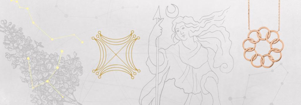 Bijou astrologie planète Lune