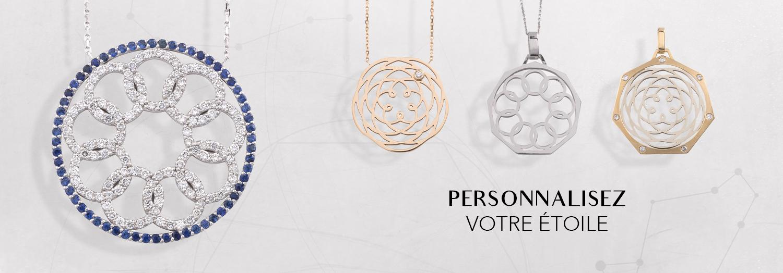 bijoux personnalisés theme astral