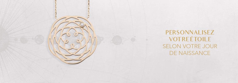 Bijoux personnalisé astronomiques